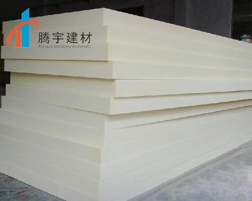 腾宇简述硅质改性保温板工程施工生产流程